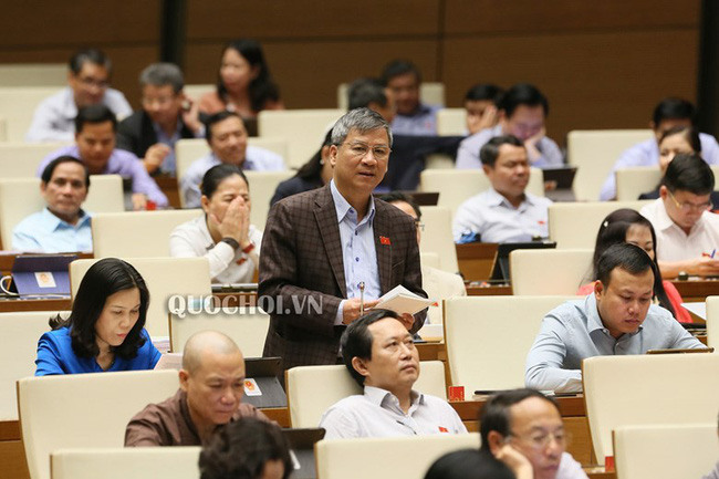 """ĐBQH Hà Nội Nguyễn Anh Trí: """"Ai không làm được thì nên thay, ai tham ô tham nhũng phải bị xử lý thật nghiêm khắc - Ảnh 1."""