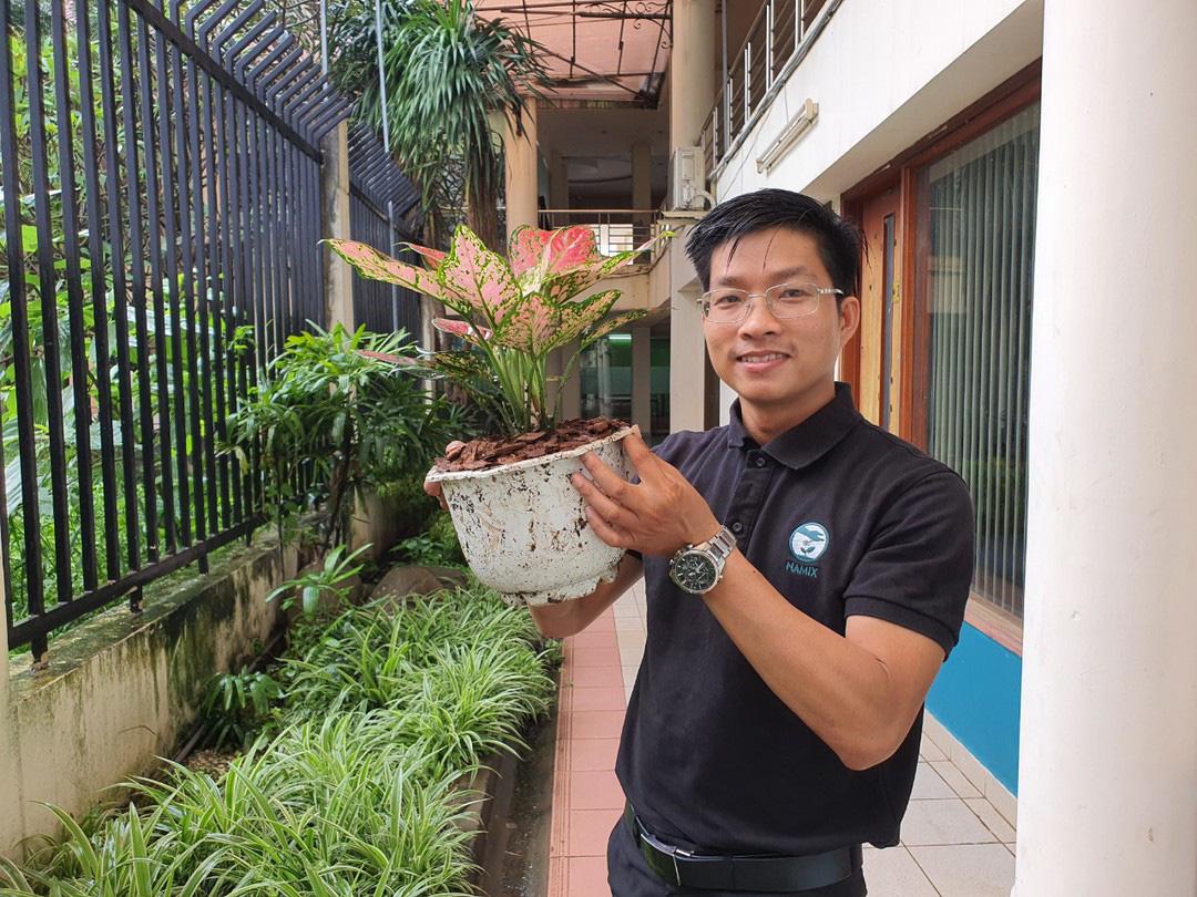 Tái khởi nghiệp sau dịch: Xuất khẩu đất trồng cây - Ảnh 1.