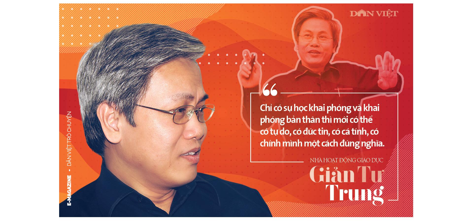Nhà hoạt động giáo dục Giản Tư Trung: Người miệt mài thúc đẩy giáo dục khai phóng bằng cách mạng sự học - Ảnh 4.