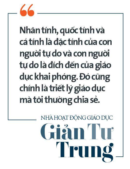 Nhà hoạt động giáo dục Giản Tư Trung: Người miệt mài thúc đẩy giáo dục khai phóng bằng cách mạng sự học - Ảnh 5.