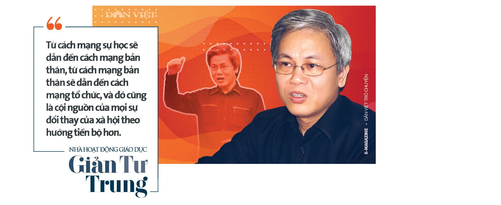 Nhà hoạt động giáo dục Giản Tư Trung: Người miệt mài thúc đẩy giáo dục khai phóng bằng cách mạng sự học - Ảnh 7.