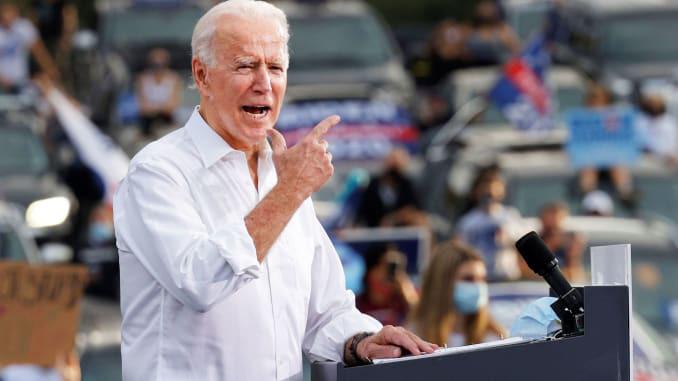 """Phe Biden bác bỏ chính sách """"Nước Mỹ trên hết"""" dưới thời Trump - Ảnh 1."""