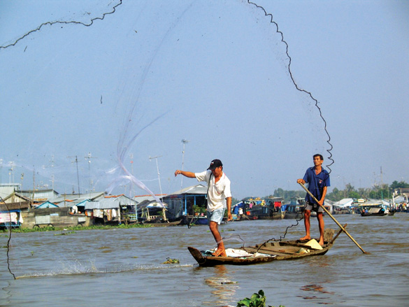 Tháng 11 này mực nước đầu nguồn sông Cửu Long tăng hay giảm? - Ảnh 1.