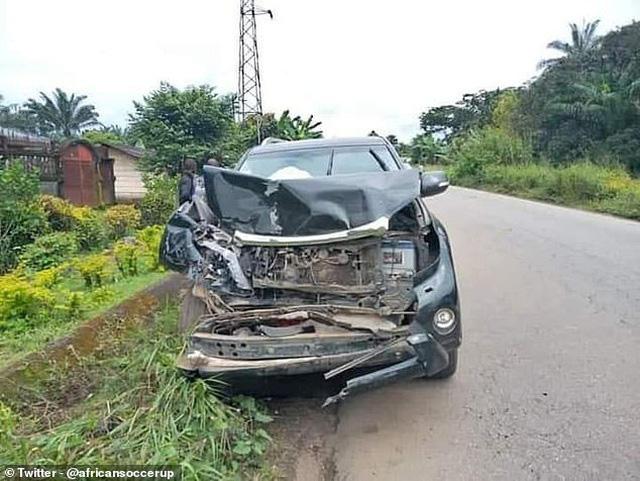 """""""Báo đen"""" Samuel Eto'o gặp tai nạn ô tô - Ảnh 3."""