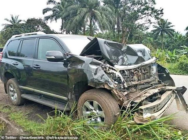 """""""Báo đen"""" Samuel Eto'o gặp tai nạn ô tô - Ảnh 2."""