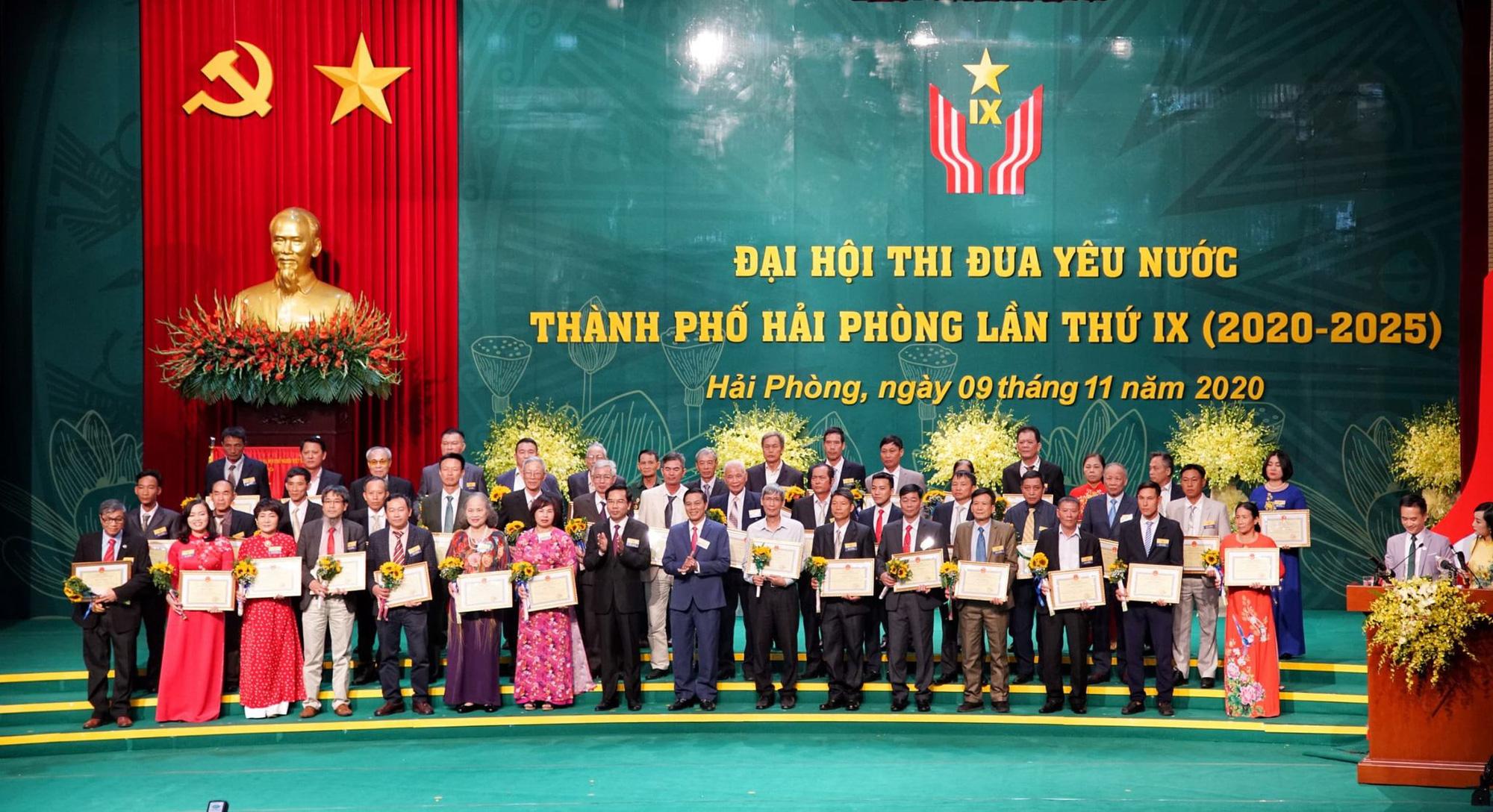 Hải Phòng: Tôn vinh 500 tập thể, cá nhân tại Đại hội Thi đua yêu nước - Ảnh 2.