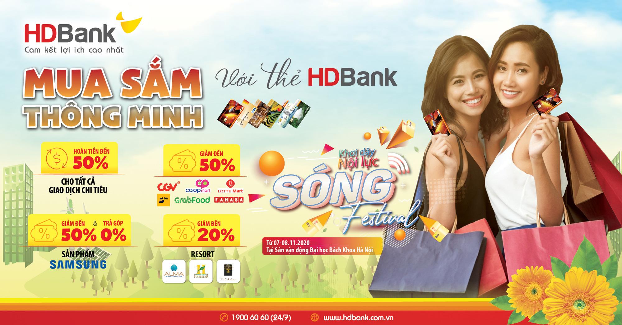 HDBank tung chuỗi ưu đãi siêu hấp dẫn nhân Ngày Thẻ Việt Nam 2020 - Ảnh 3.