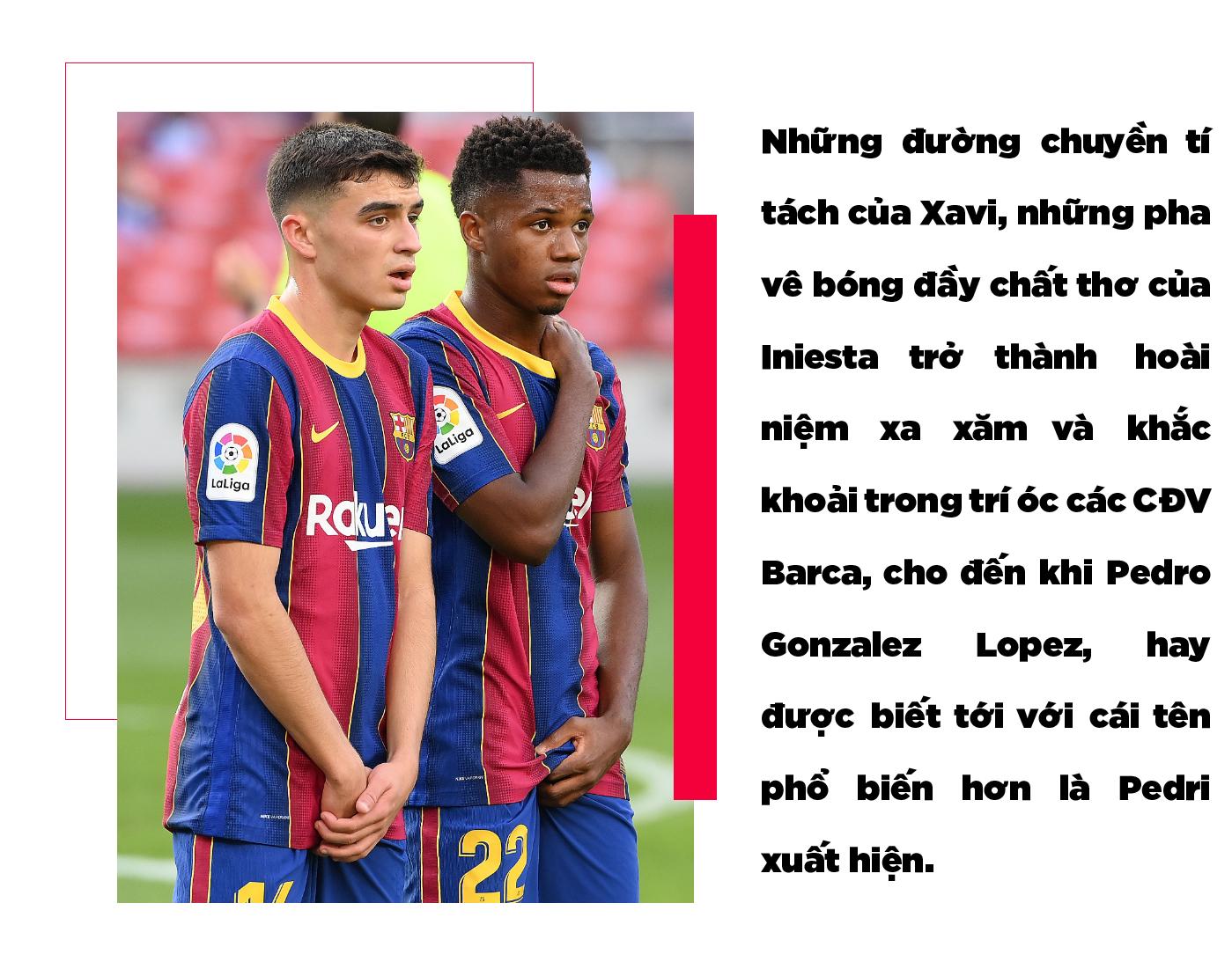 Pedri: Thiên ý kế vị Xavi-Iniesta và niềm hy vọng cứu rỗi Barca - Ảnh 3.