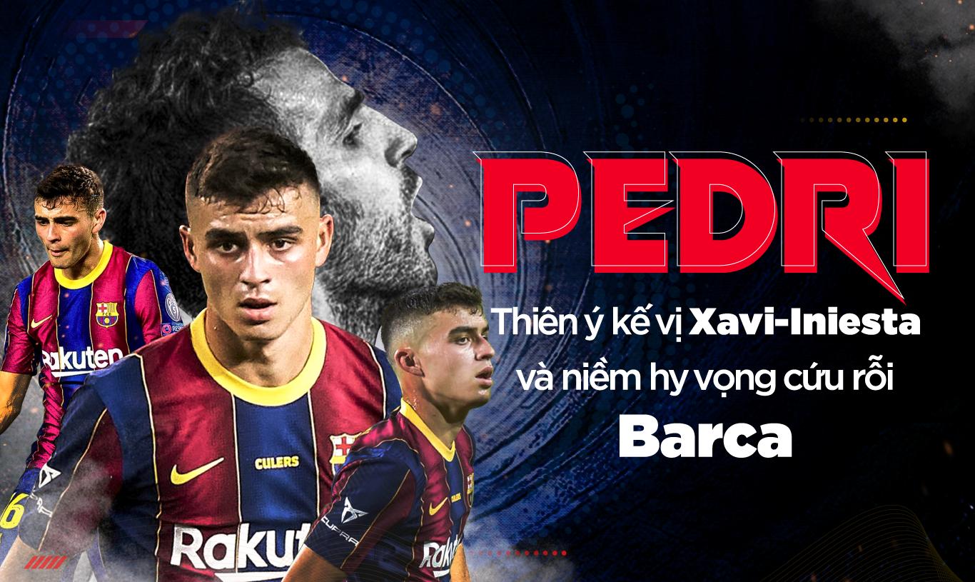 Pedri: Thiên ý kế vị Xavi-Iniesta và niềm hy vọng cứu rỗi Barca - Ảnh 1.