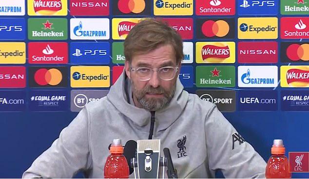 Klopp nói về chấn thương của Van Dijk.
