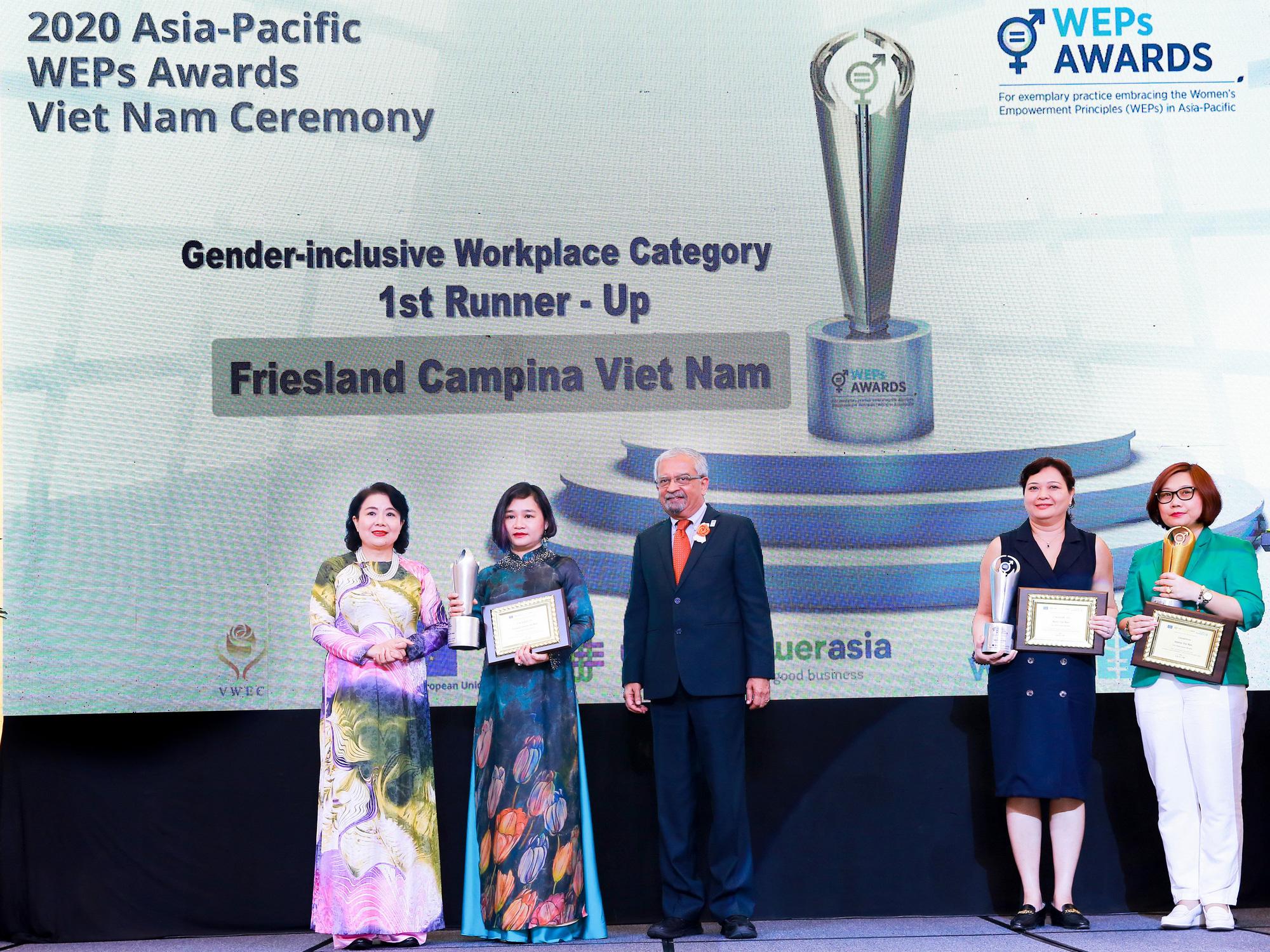 FrieslandCampina Vietnam nhận giải thưởng Trao quyền cho Phụ nữ khu vực châu Á – Thái Bình Dương - Ảnh 2.