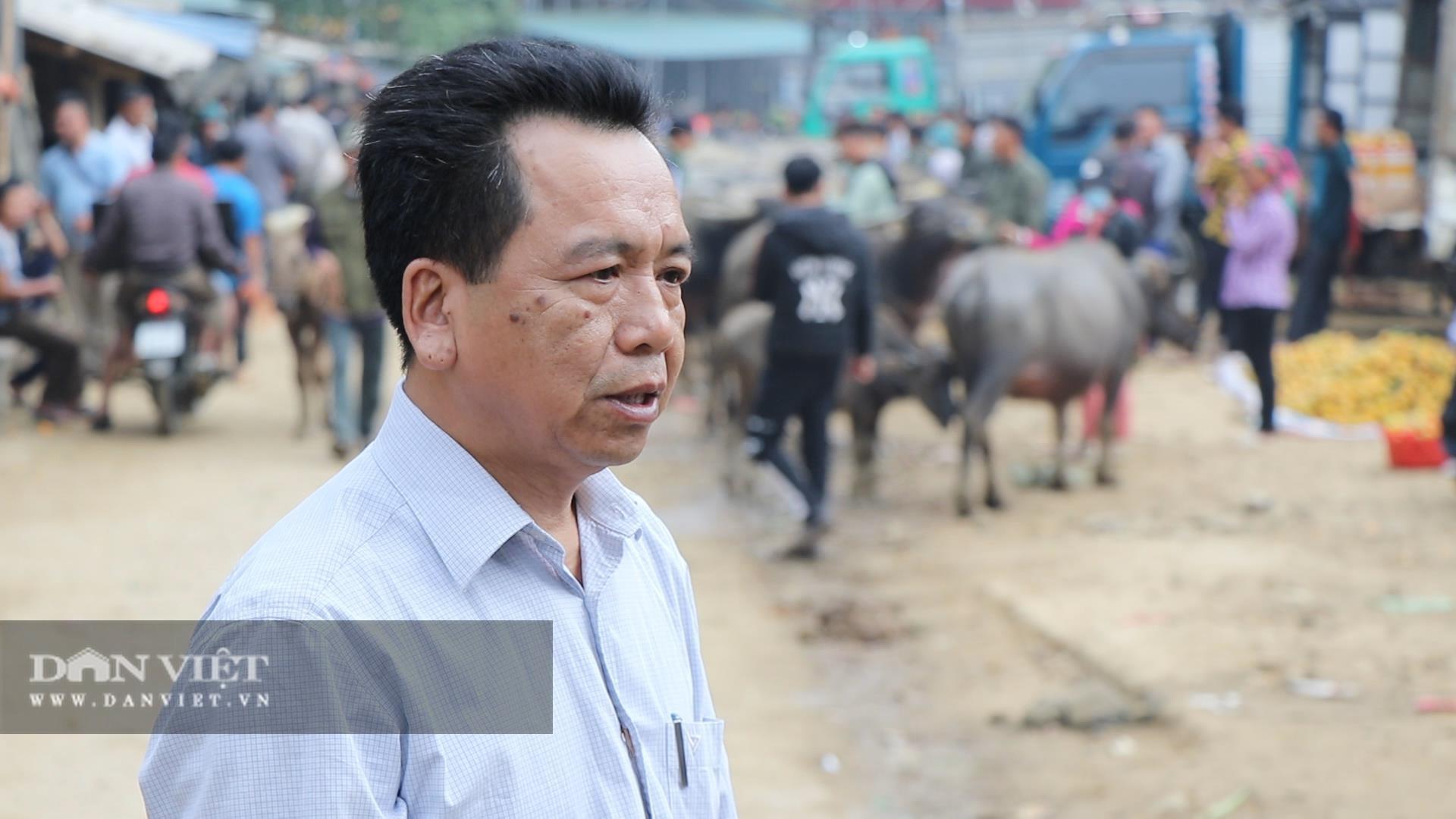 Bắc Kạn: Nguy cơ mất an toàn tại chợ trâu, bò Nghiên Loan - Ảnh 2.