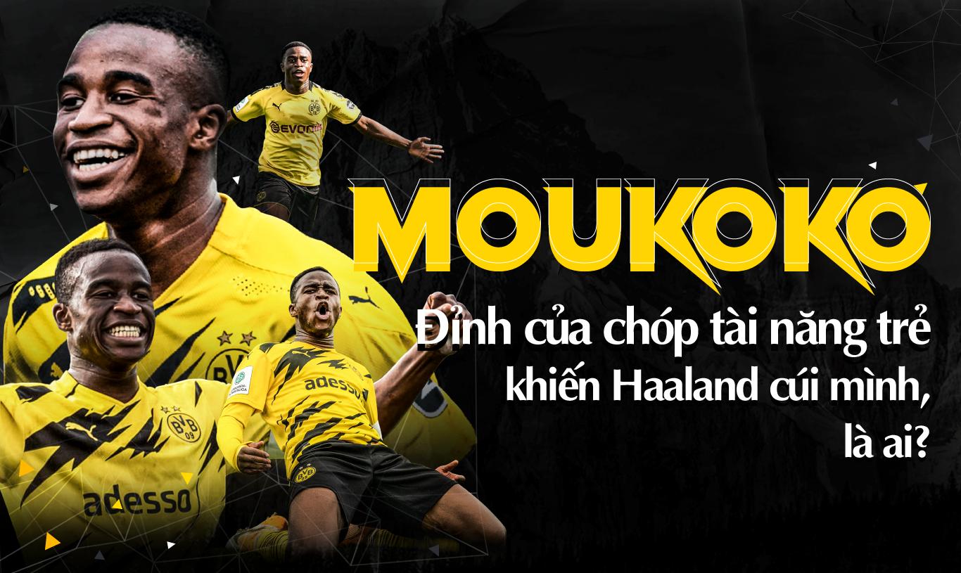 Moukoko, đỉnh của chóp tài năng trẻ khiến Haaland cúi mình, là ai? - Ảnh 1.