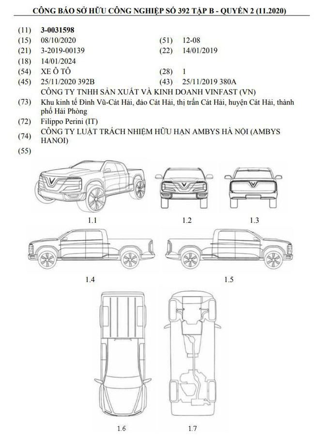 VinFast của tỷ phú Phạm Nhật Vượng sắp chế tạo xe bán tải? - Ảnh 1.