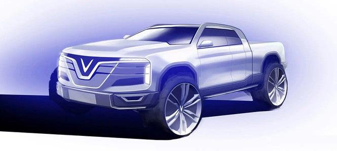 VinFast của tỷ phú Phạm Nhật Vượng sắp chế tạo xe bán tải? - Ảnh 3.