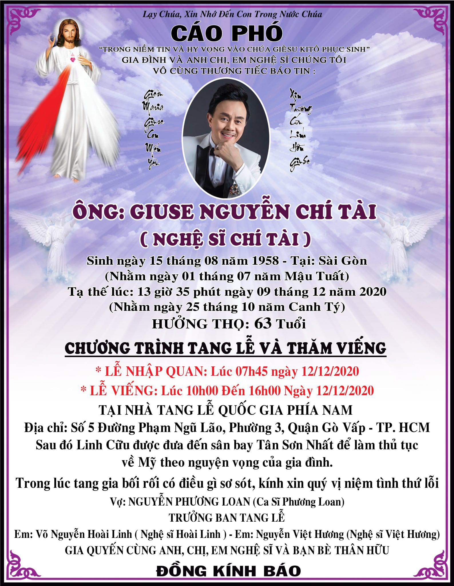 """MC Kỳ Duyên nghẹn lời phút cuối tiễn biệt Chí Tài - """"Nghệ sĩ duy nhất không có anti-fan"""" - Ảnh 3."""