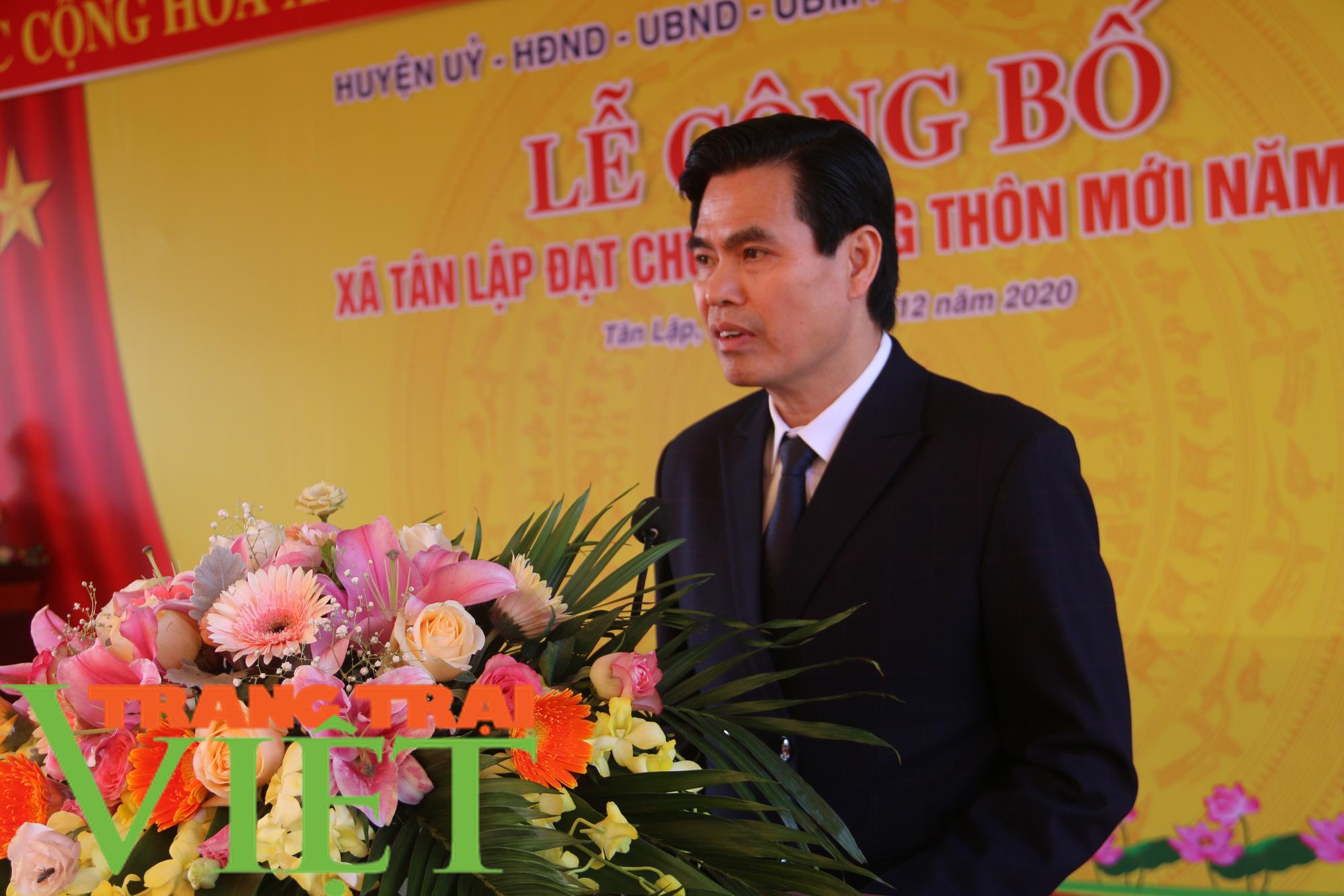 Sơn La: Công bố xã Tân Lập cán đích nông thôn mới  - Ảnh 2.