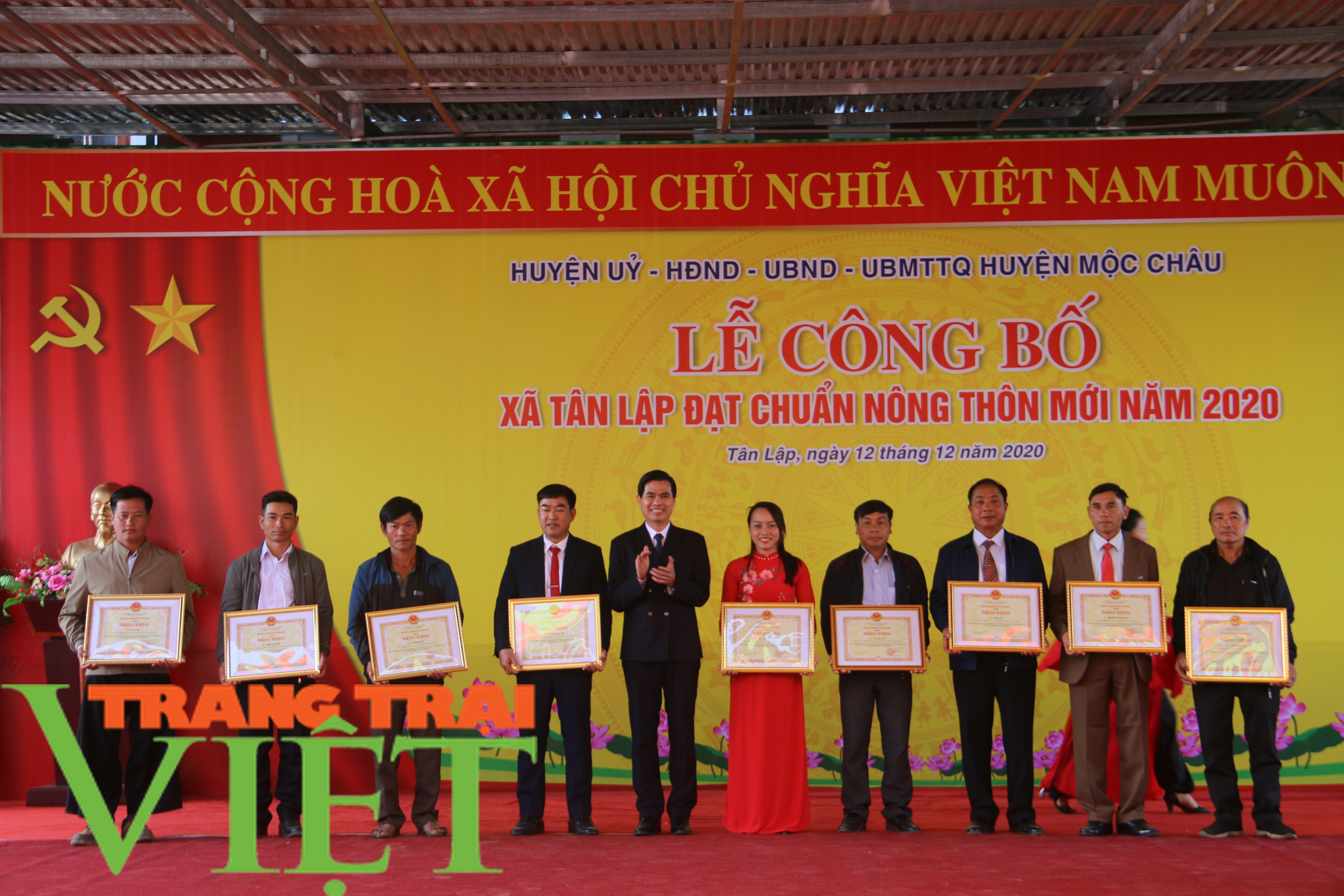 Sơn La: Công bố xã Tân Lập cán đích nông thôn mới  - Ảnh 7.