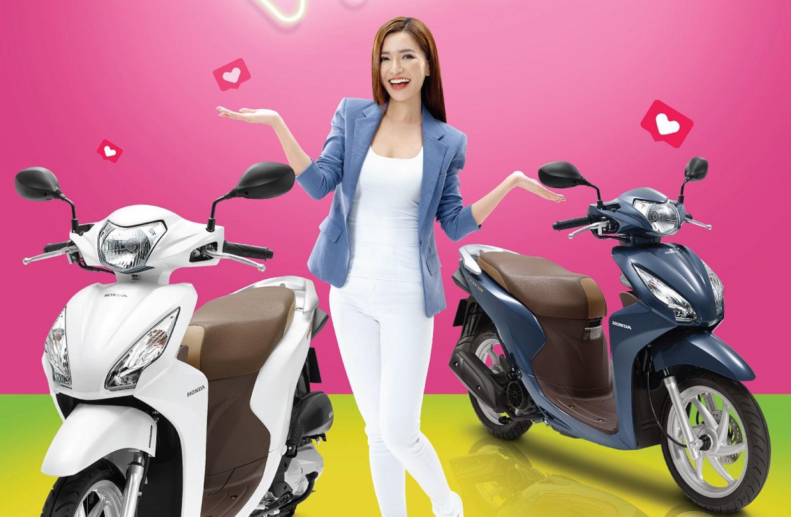 """""""Xe của chị em"""" Honda Vision 2021 ra mắt, """"chiều"""" cả nam giới - Ảnh 2."""