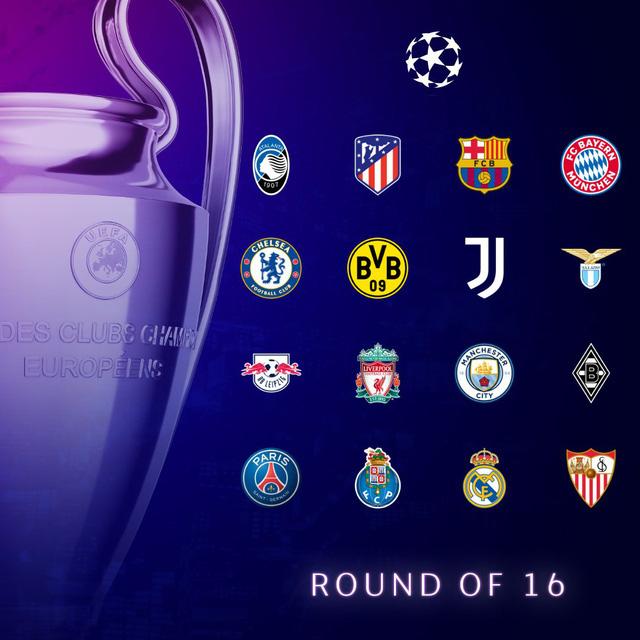 """18 giờ chiều nay (14/12), bốc thăm vòng 1/8 Champions League: Barca """"nín thở"""" - Ảnh 1."""