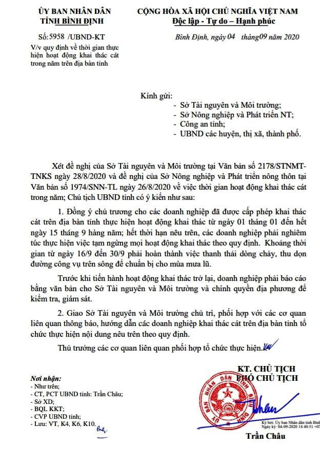 Bất chấp quy định của Chủ tịch tỉnh Bình Định, doanh nghiệp múc cát công khai, xã không biết? - Ảnh 4.