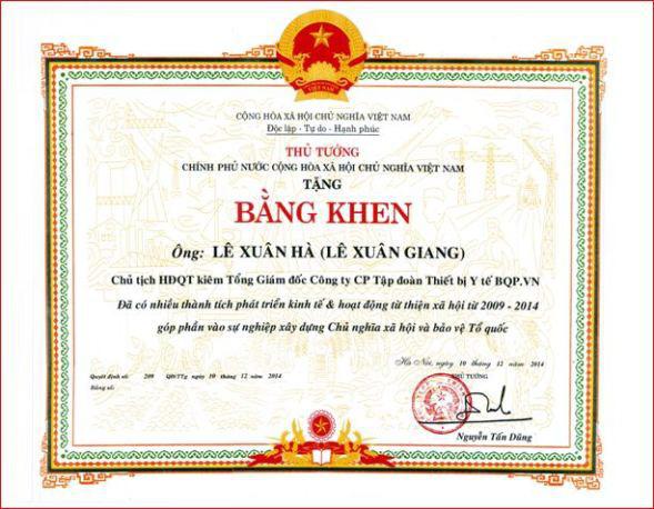 Vụ Liên Kết Việt: Nhà sư làm giả cả bằng khen của nguyên Thủ tướng Nguyễn Tấn Dũng - Ảnh 1.