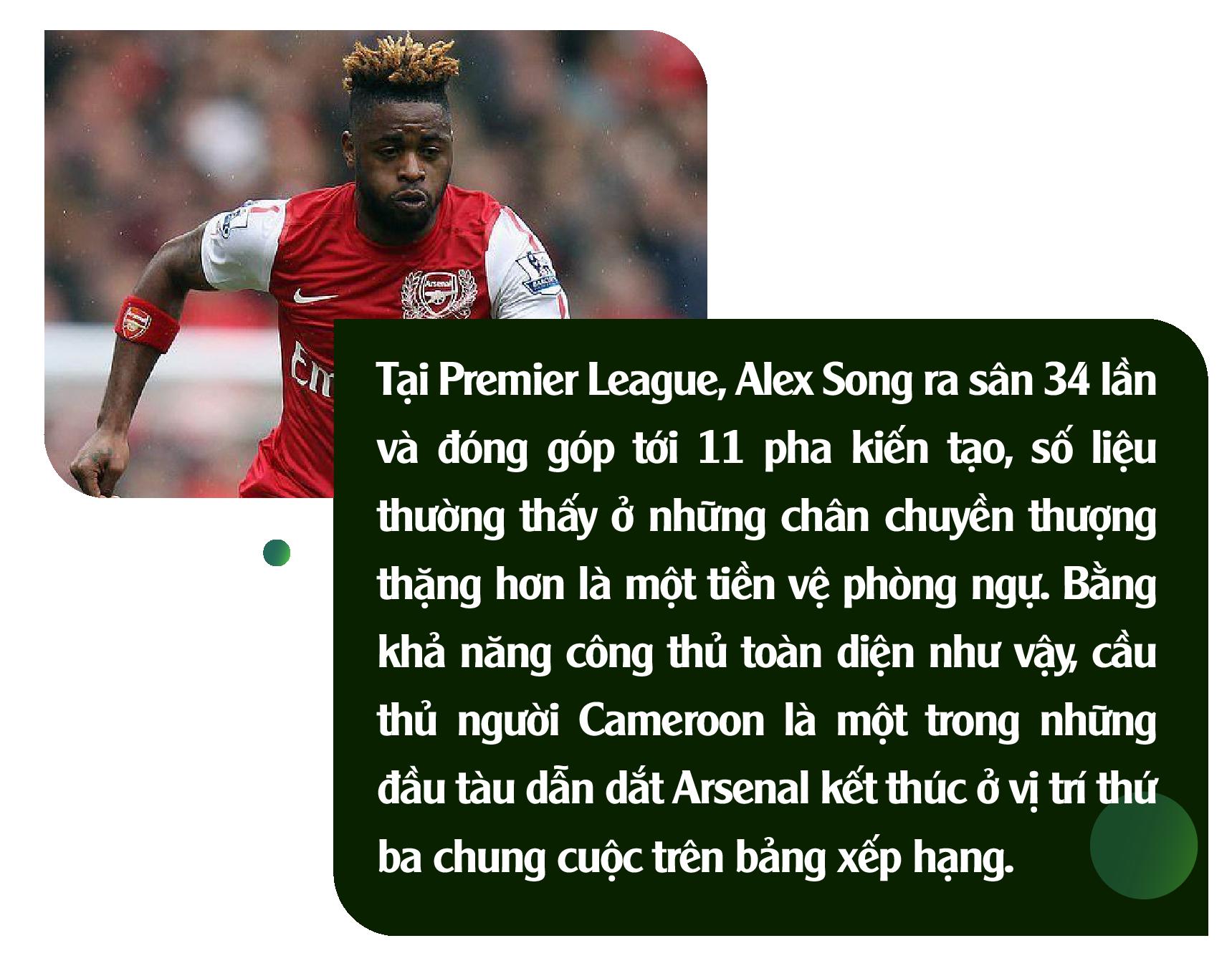 Alex Song: Ký ức nghèo khó và giấc mơ triệu phú đè nát 1 tài năng - Ảnh 4.