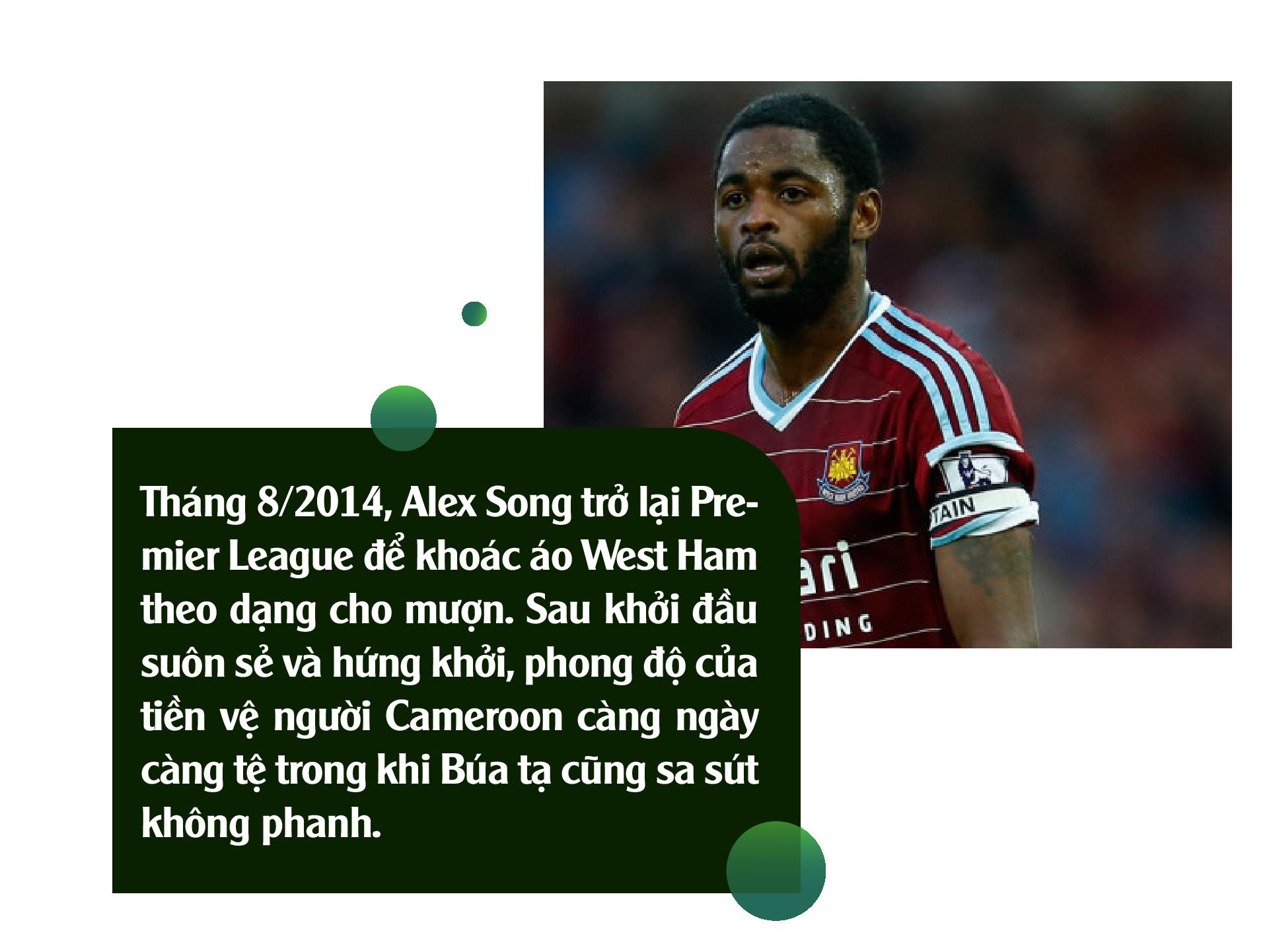 Alex Song: Ký ức nghèo khó và giấc mơ triệu phú đè nát 1 tài năng - Ảnh 8.