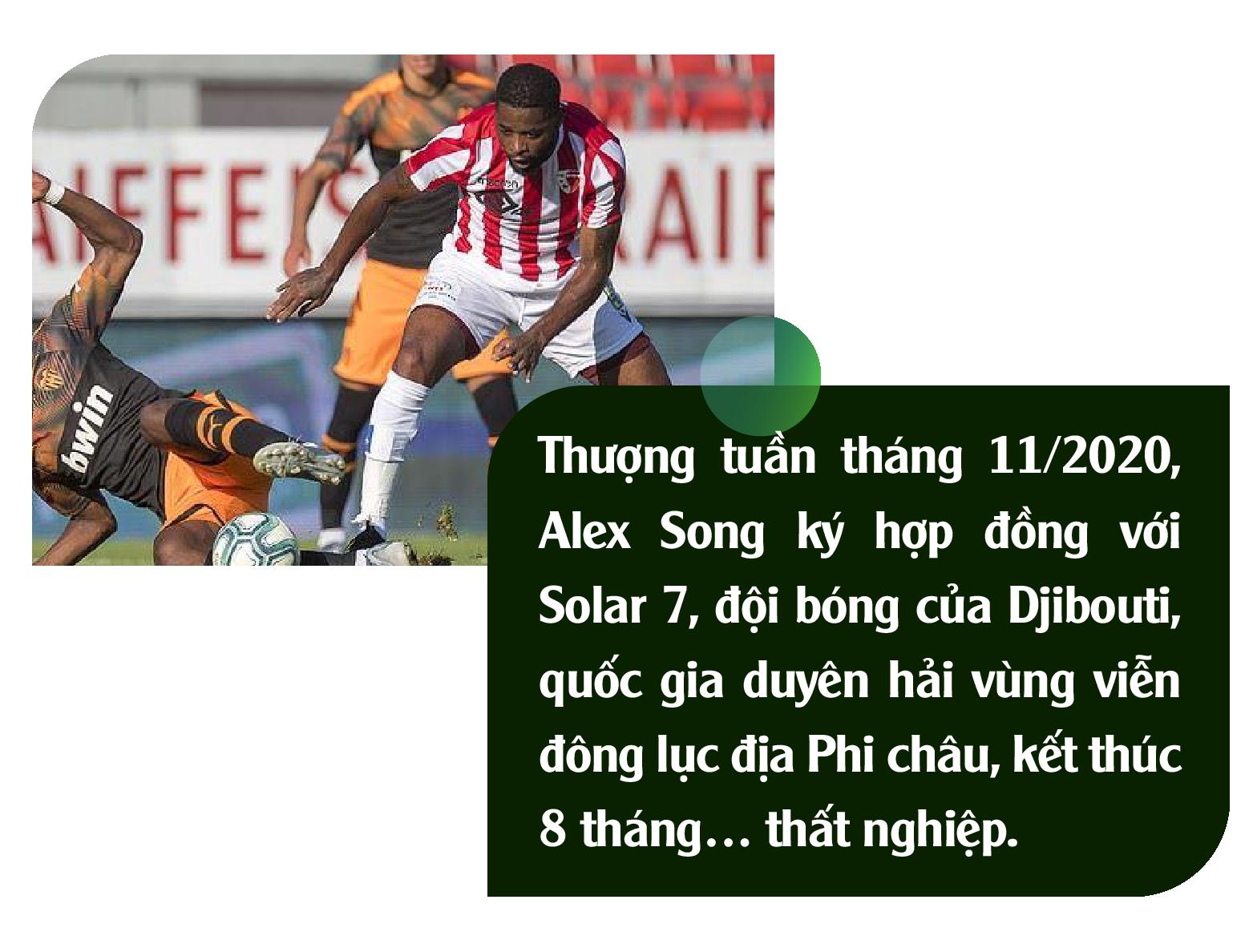 Alex Song: Ký ức nghèo khó và giấc mơ triệu phú đè nát 1 tài năng - Ảnh 3.