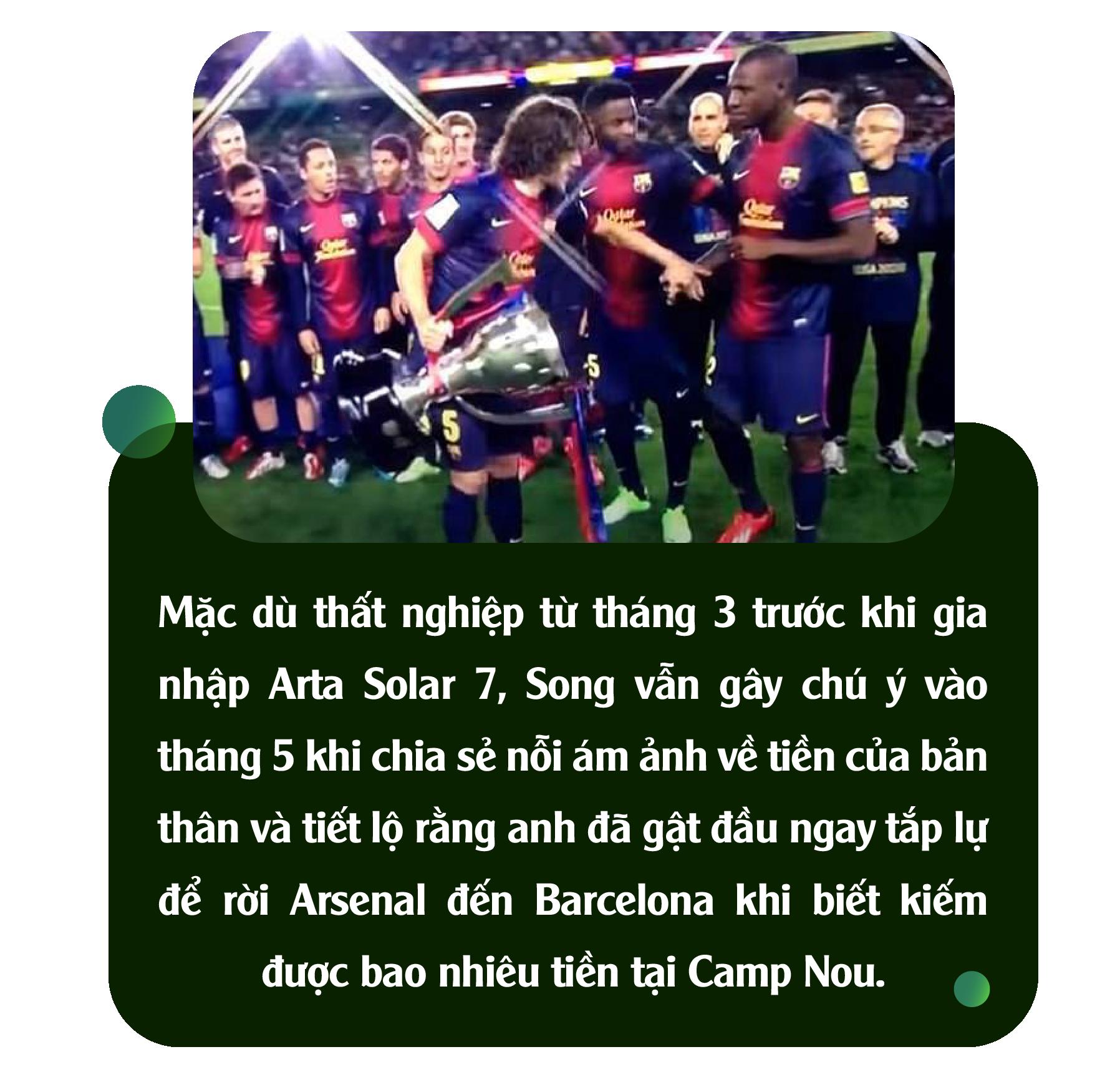 Alex Song: Ký ức nghèo khó và giấc mơ triệu phú đè nát 1 tài năng - Ảnh 15.