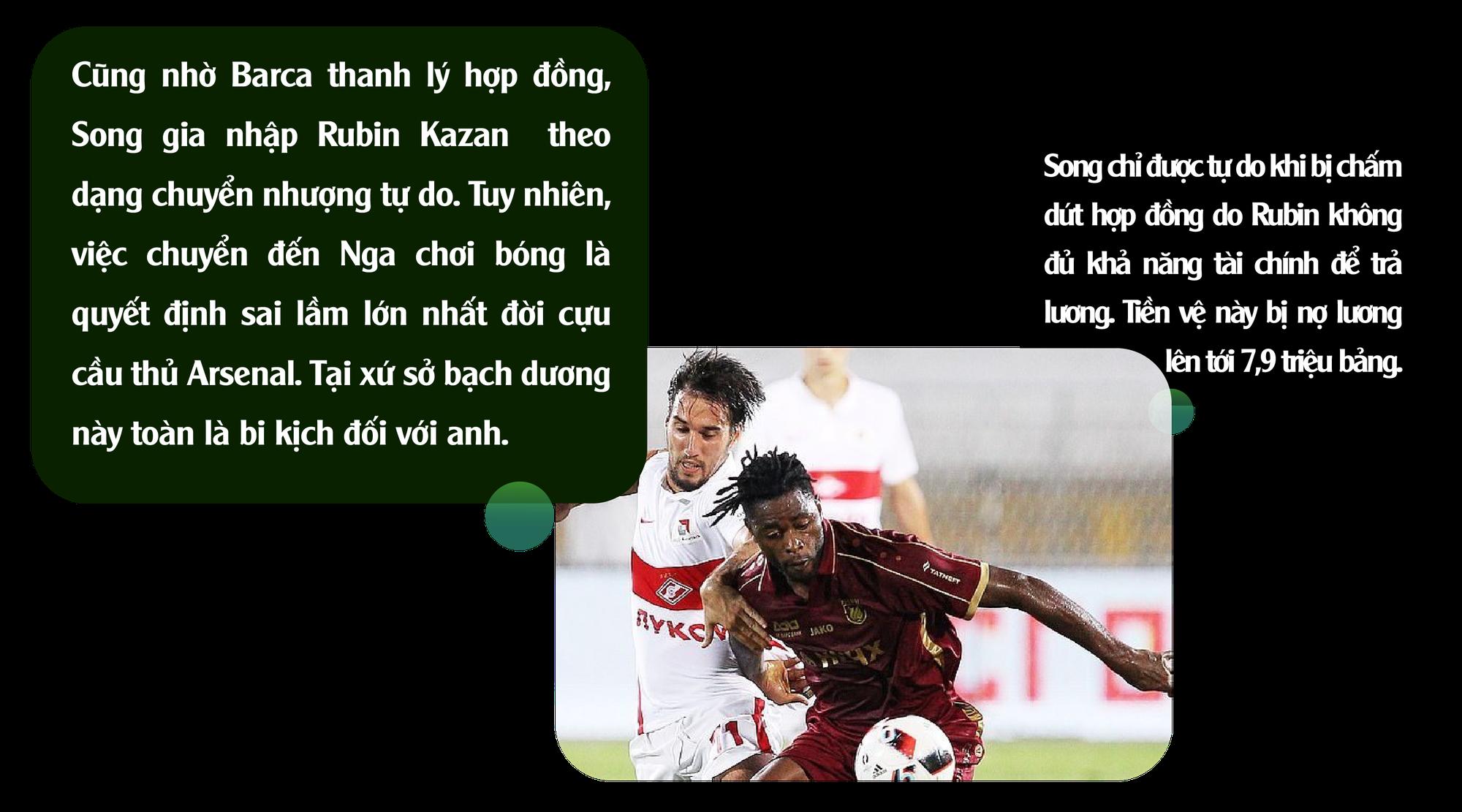 Alex Song: Ký ức nghèo khó và giấc mơ triệu phú đè nát 1 tài năng - Ảnh 9.