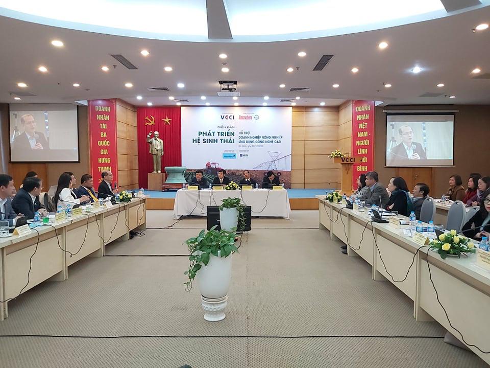 """Chủ tịch VCCI Vũ Tiến Lộc: Sản xuất nông nghiệp nhỏ lẻ, thiếu liên kết đang là """"căn bệnh trầm kha"""" - Ảnh 2."""