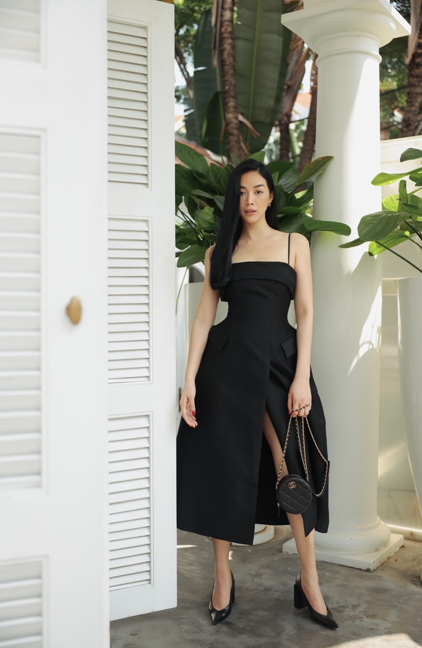 Mai Thanh Hà khéo khoe thân hình đồng hồ cát, tiết lộ bí quyết giữ eo bá đạo - Ảnh 5.