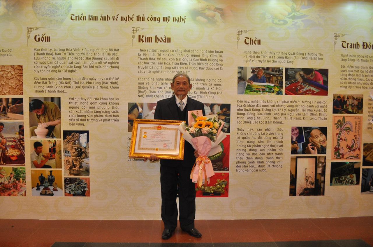 PNJ vinh dự có 6 nghệ nhân được trao tặng danh hiệu nghệ nhân ưu tú ngành Kim Hoàn - Ảnh 2.