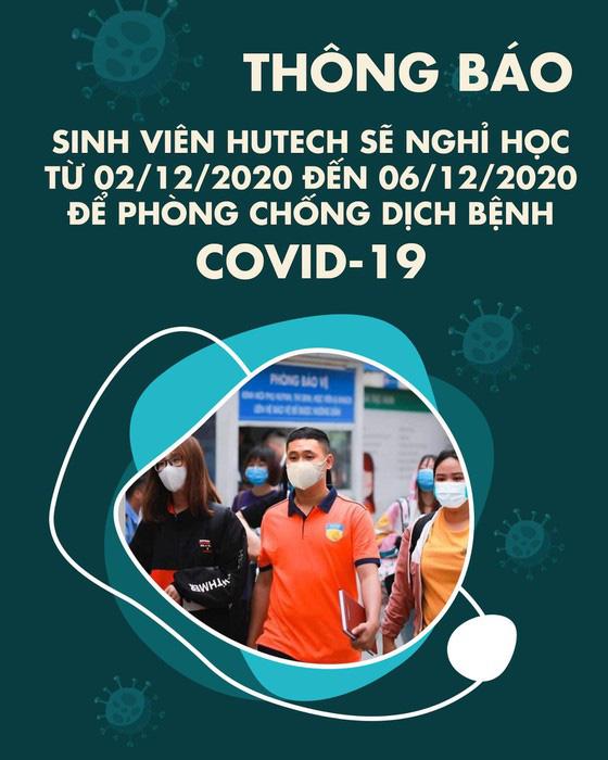 TP.HCM: Thêm 2 trường đại học cho sinh viên nghỉ vì liên quan đến bệnh nhân Covid-19 - Ảnh 1.