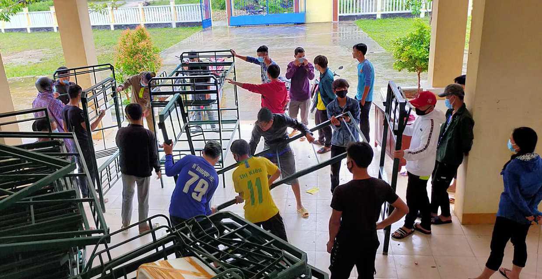 Quảng Nam: Trường 24 tỷ đồng không dám cho học sinh học vì bị sạt lở - Ảnh 4.