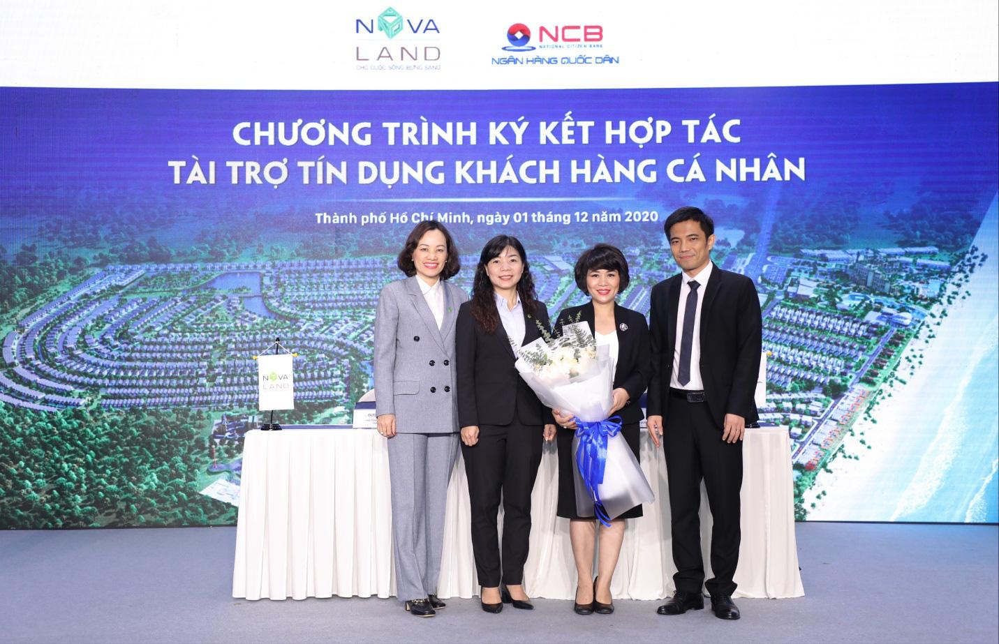 NCB tài trợ tín dụng khách hàng cá nhân mua dự án của Novaland - Ảnh 2.