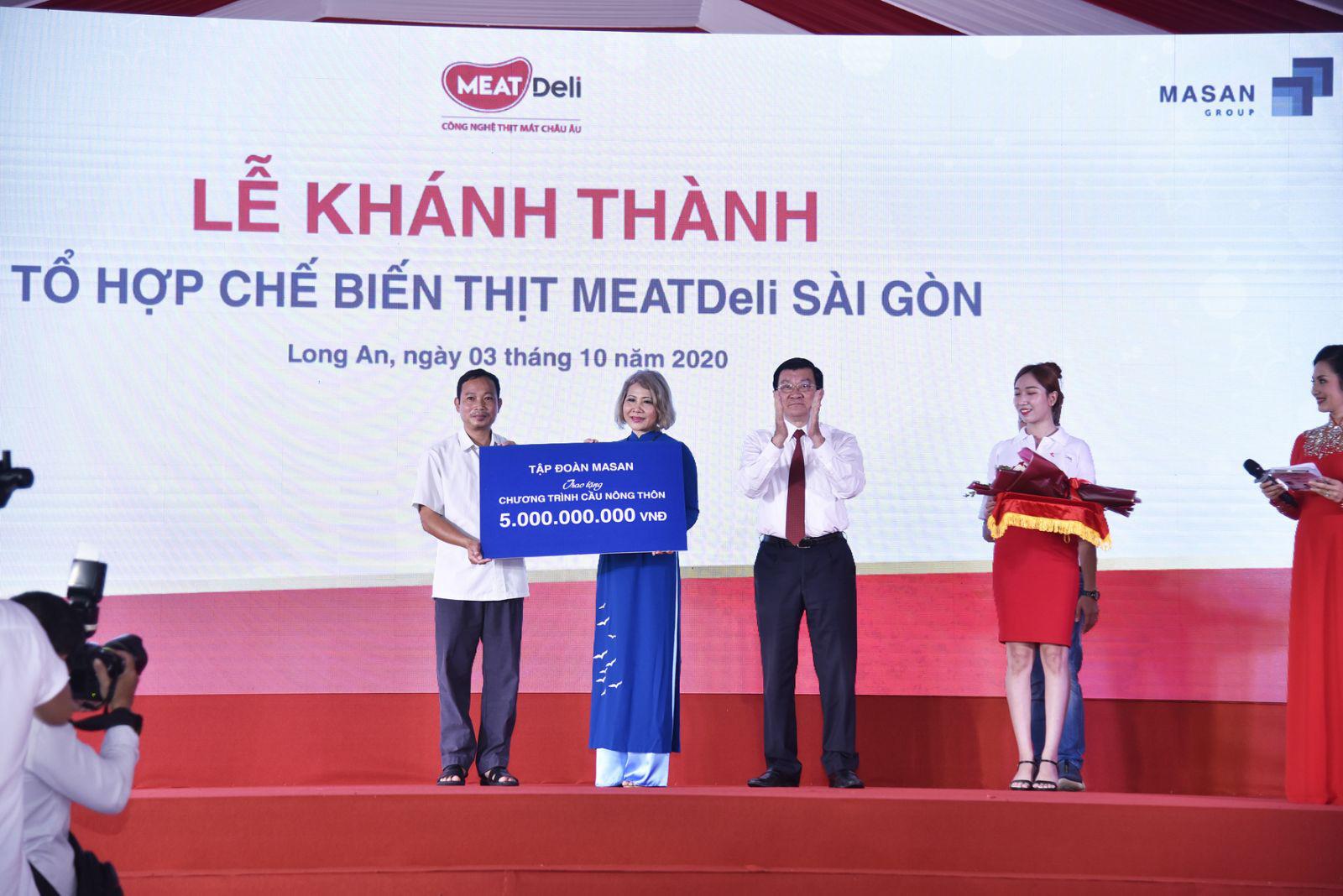 Tập đoàn Masan đóng góp gần 30 tỷ đồng cho các hoạt động an sinh xã hội - Ảnh 5.