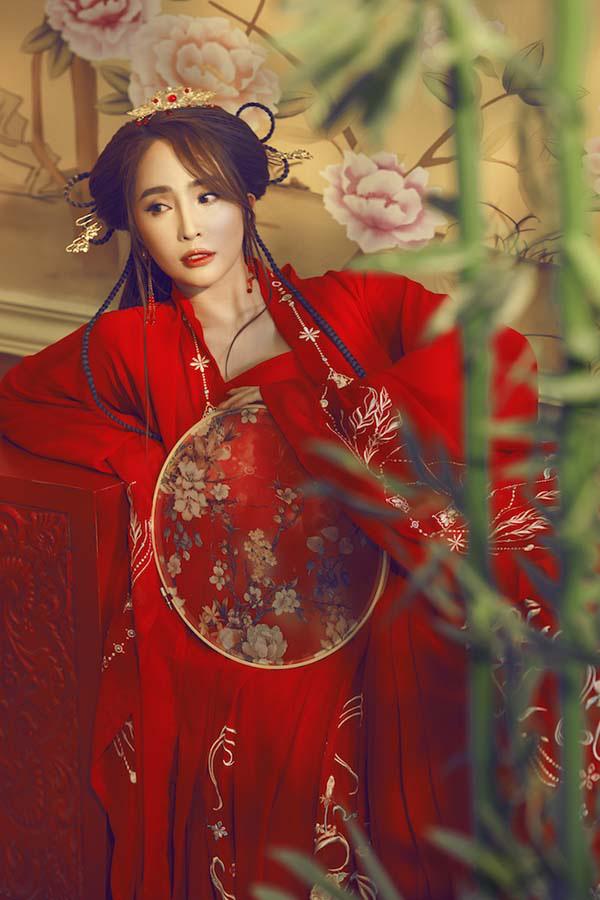 Quỳnh Nga hoá tiên giáng trần trong bộ ảnh cổ trang  - Ảnh 9.
