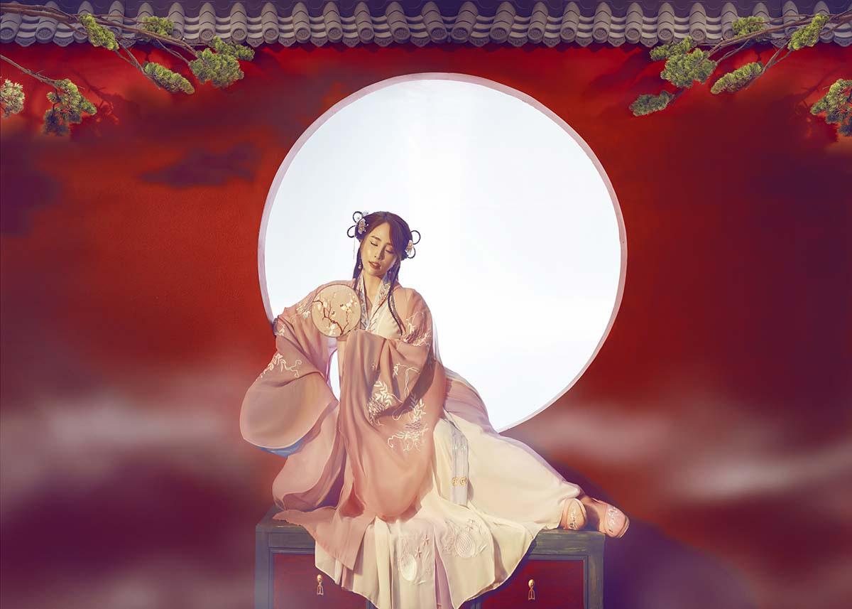 Quỳnh Nga hoá tiên giáng trần trong bộ ảnh cổ trang  - Ảnh 4.
