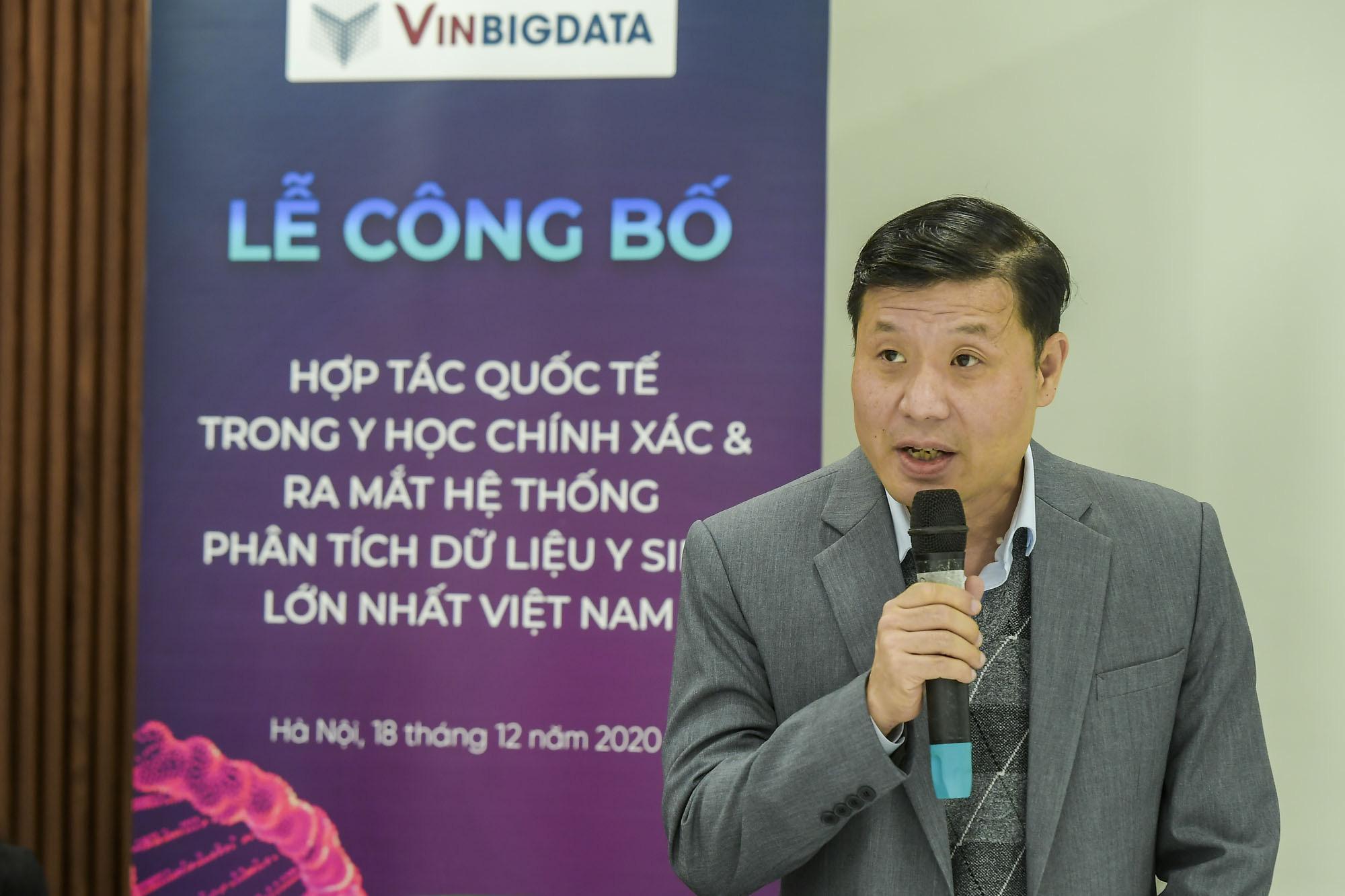 Vingroup công bố hợp tác quốc tế và ra mắt hệ thống quản lý dữ liệu Y sinh lớn nhất Việt Nam - Ảnh 1.