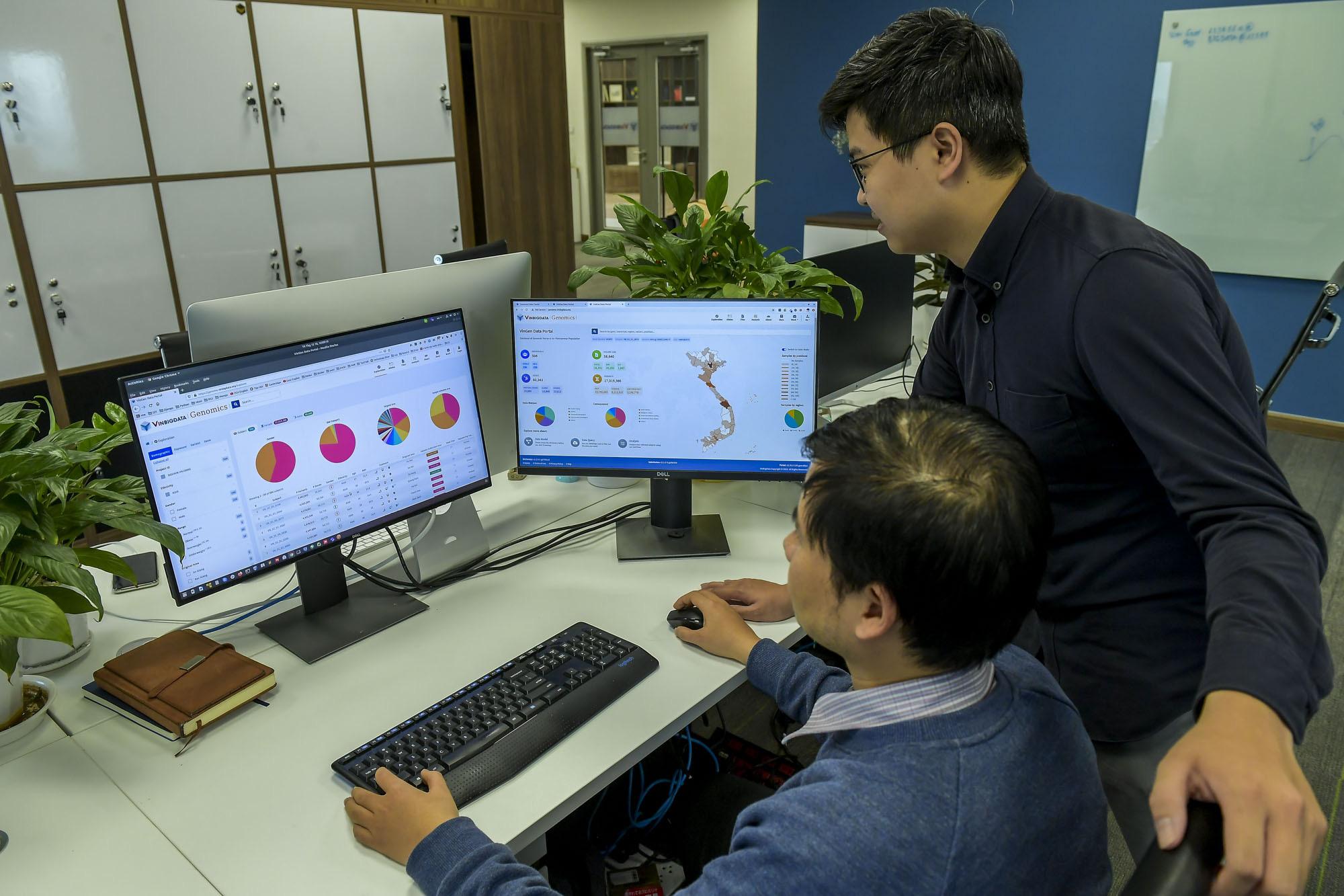 Vingroup công bố hợp tác quốc tế và ra mắt hệ thống quản lý dữ liệu Y sinh lớn nhất Việt Nam - Ảnh 3.
