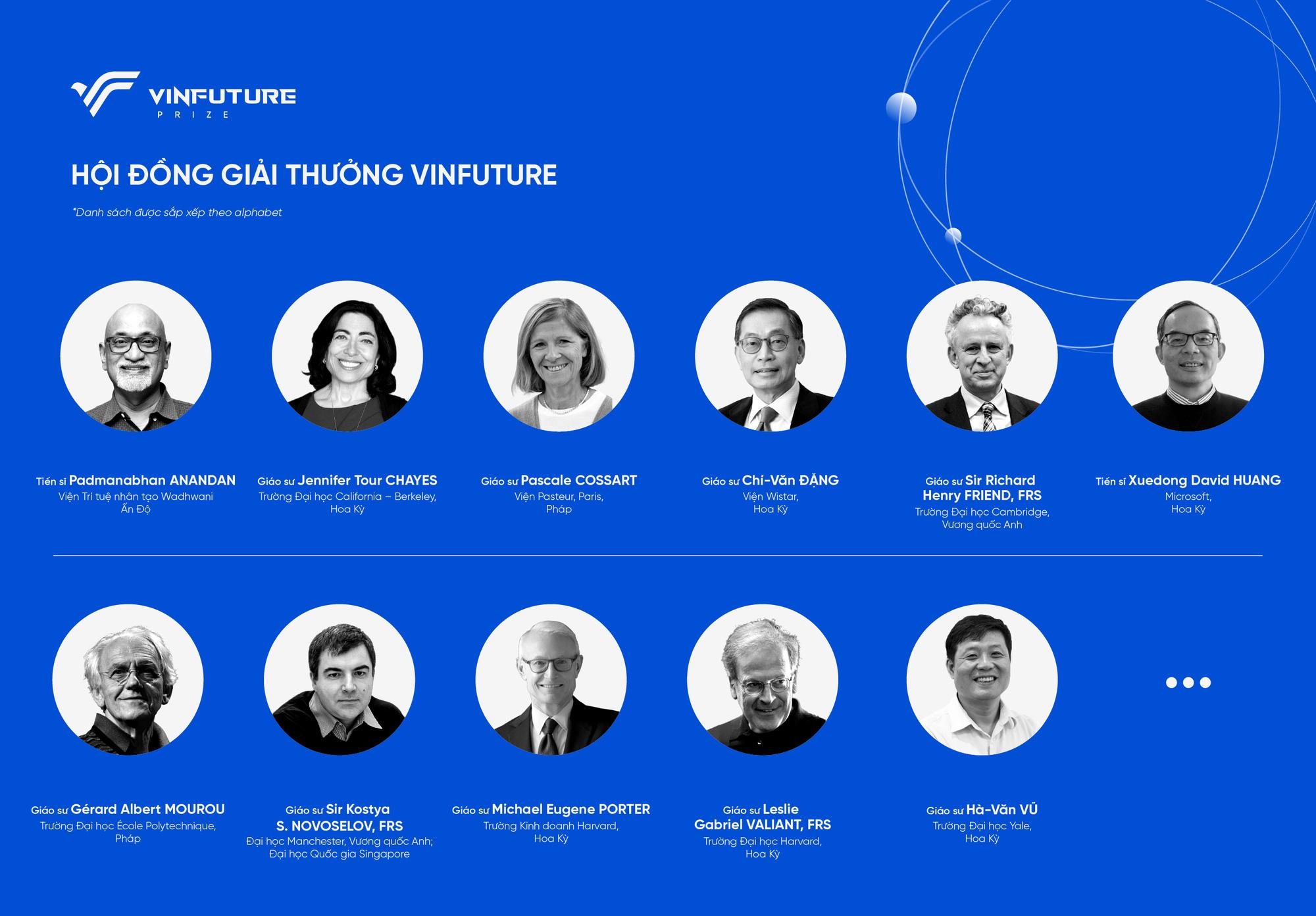 Công bố giải thưởng toàn cầu VinFuture - Ảnh 1.
