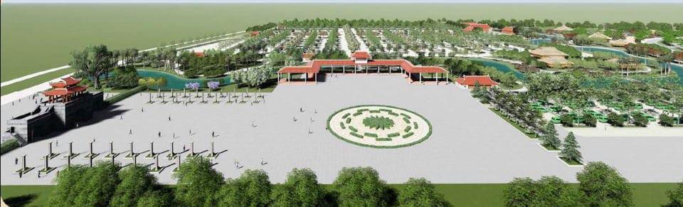 Thủ tướng CP đồng ý chuyển mục đích sử dụng đất để làm dự án Khu du lịch sinh thái tâm linh Đền Đá Thiên - Ảnh 1.