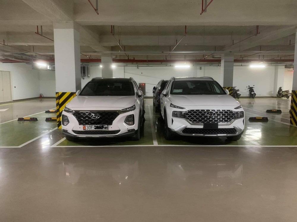 Bắt gặp Hyundai Santa Fe 2021 chạy trên đường phố - Ảnh 1.