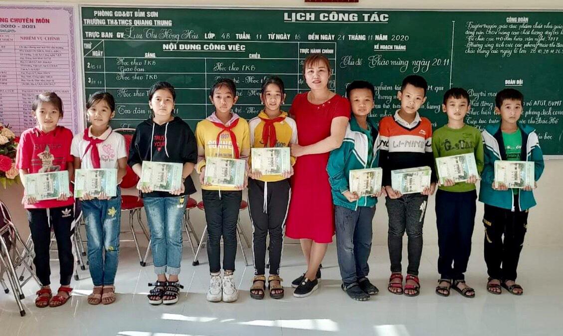 Trường TH&THCS Quang Trung: Đổi mới rõ nét trong chất lượng giáo dục - Ảnh 3.