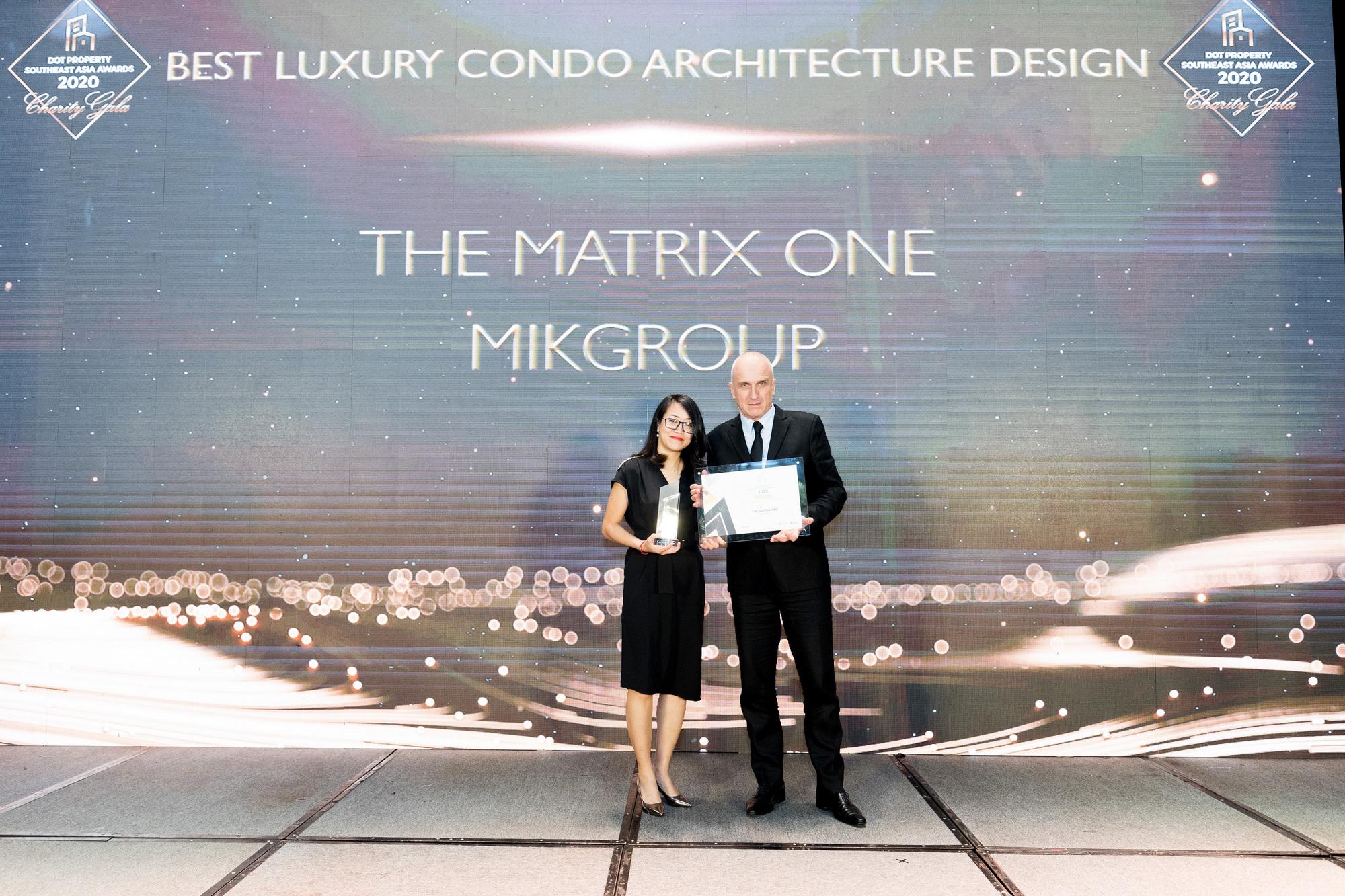The Matix One rinh giải thưởng  Dự án hạng sang có thiết kế kiến trúc đẹp nhất Đông Nam Á - Ảnh 1.