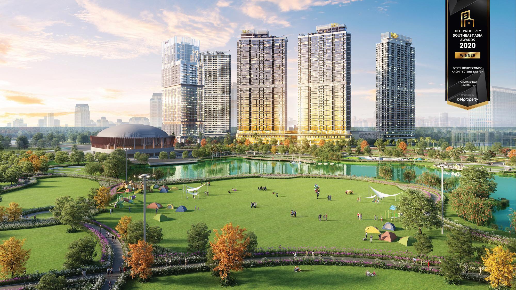 The Matix One rinh giải thưởng  Dự án hạng sang có thiết kế kiến trúc đẹp nhất Đông Nam Á - Ảnh 2.