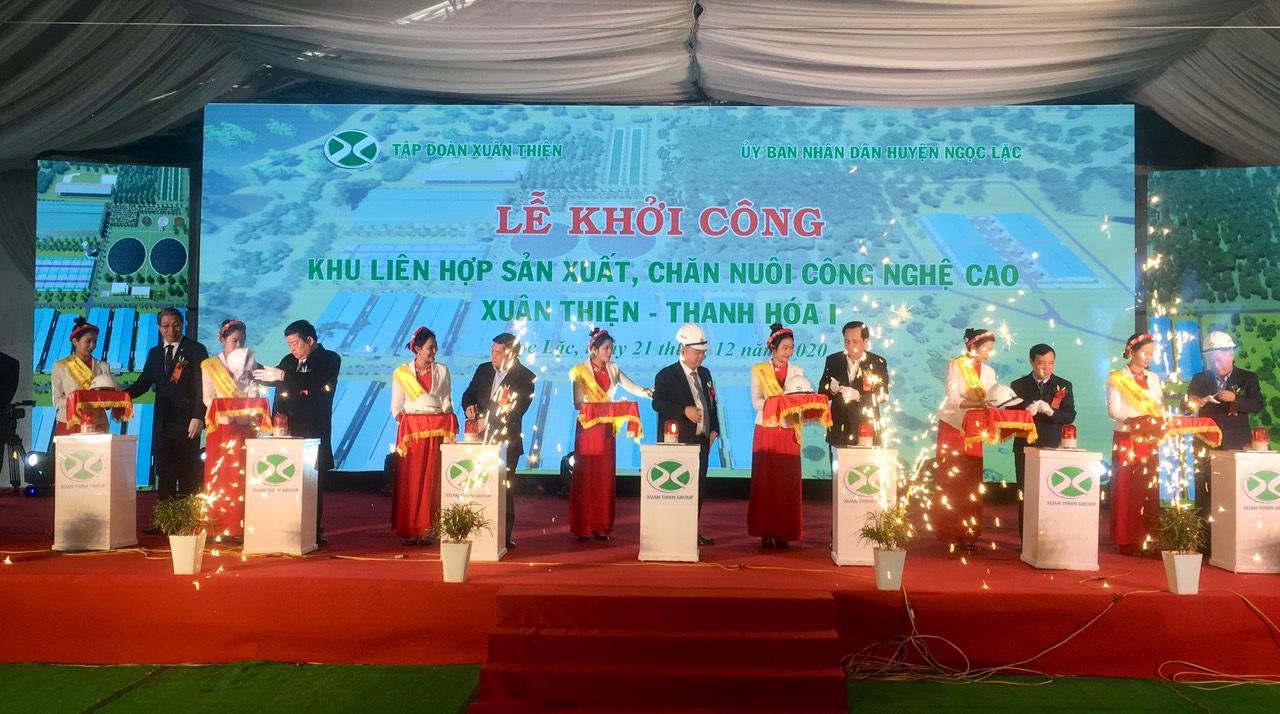 Thanh Hoá: Khởi công khu liên hợp sản xuất, chăn nuôi công nghệ cao 3.000 tỷ đồng - Ảnh 3.