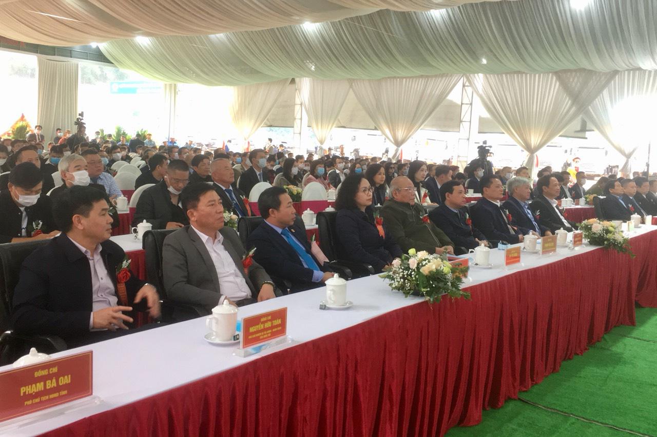 Thanh Hoá: Khởi công khu liên hợp sản xuất, chăn nuôi công nghệ cao 3.000 tỷ đồng - Ảnh 1.